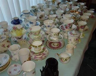 English teacup collection