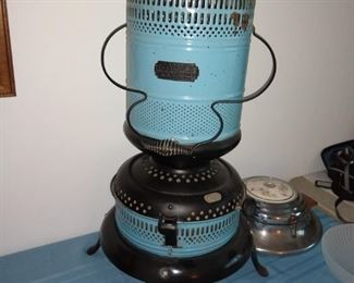 Antique enamel heater
