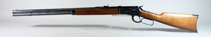 Winchester Model 1892 .45 Colt Lever Action Rifle SN# NT2300, Historic Classic, NIB, Engraved Receiver, In Original Box
