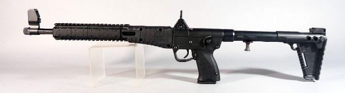 Kel Tec Sub-2000 .40 S&W Rifle SN# FKB65, Barrel Folds Back Over Rear Stock