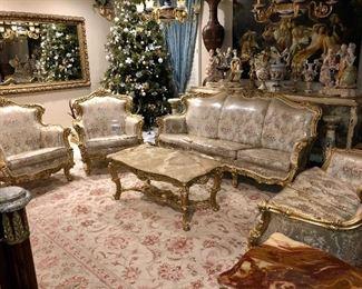 Silik Italian living room set