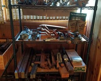 Antique and vintage hand planes
