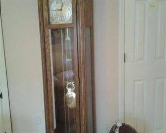 40 year old grandmother clock in mint condition