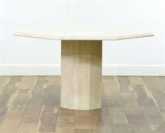 Stone International Octagon Dining Table