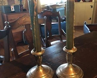 Towle Sterling Candle Holders