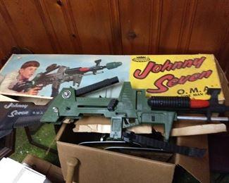 1960's Johnny Seven In Box