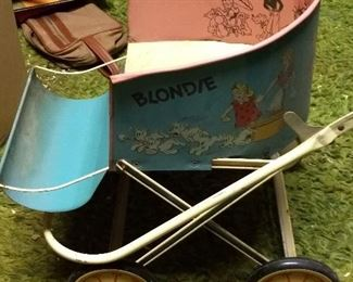 Early Blondie Cart