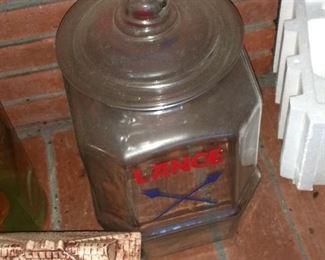 Nice Early Lance Jar