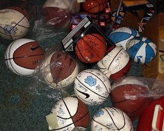 Original Autographed Basketball Collection