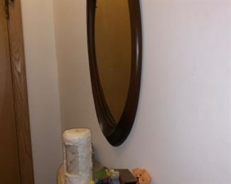 Briarhill mirror and entry shelf