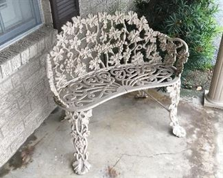 Iron bench in great condition