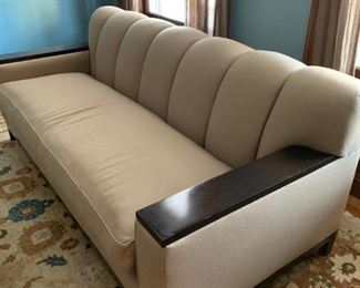 chic deco style couch