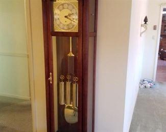 Howard Miller grandfather clock, works great!