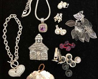 Fashion jewelry earrings, pendants, necklace and more