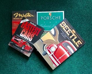 Books about cars of all kinds
