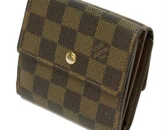 elise wallet damier