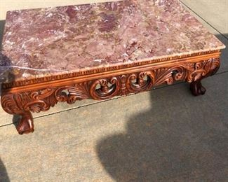 Rose Granite Coffee Table