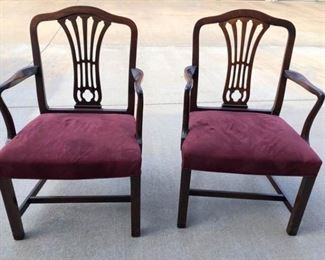 Twin Hickory Chairs