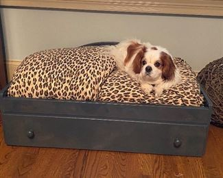 Cute Dog Bed..   Dog not for sale