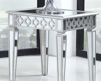 Rosdorf Park Rankin Mirror End Table