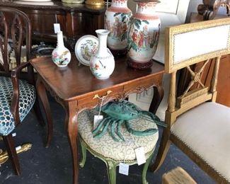 19th Century Louis XV tea table.