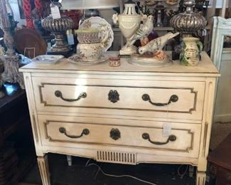 Directoire painted commode.