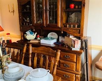 Lovely Dining Room Hutch