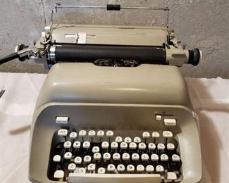 Vintage Metal Type Writer