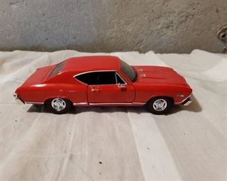 Red Chevelle Die Cast Car