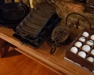 Antique Cast Iron Cookware