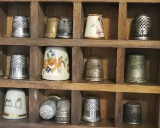 Thimble collection