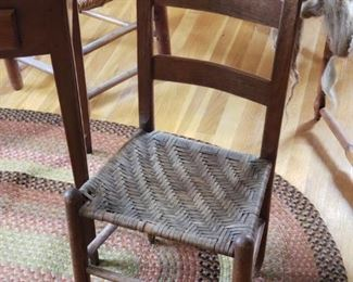Many gorgeous antique chairs