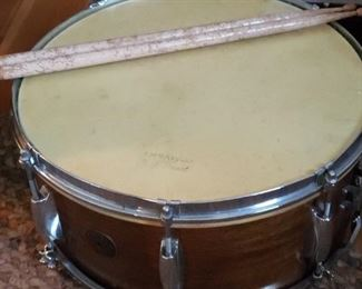 Snare Drum with case and sticks