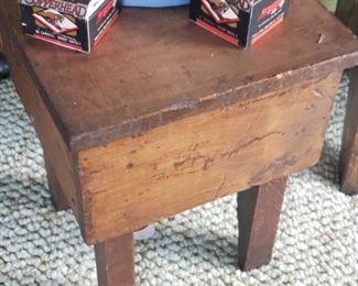 Small Primitive stool