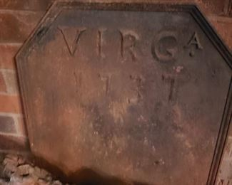 Virginia Metalcrafters fireplace back plate.