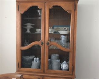 French Wire Cabinet display $400