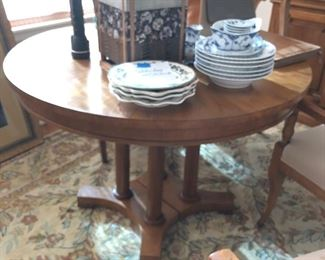 Baker Table and 4 chairs $500