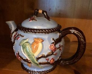 Massive teapot collection
