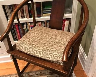 Chinese mahogany arm chair