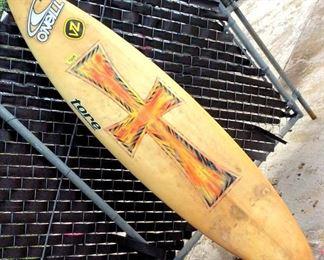 HFS008 O'Neill Triple Fin Surfboard