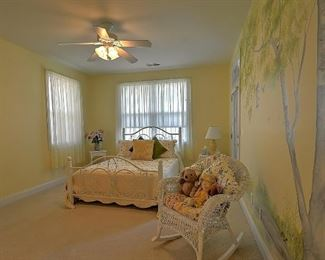 bedroom mattress not included