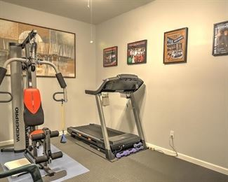 gym artwork not included