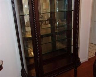 Ornate China Cabinet/Display Cabinet