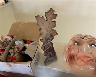 Bonnie Barret, celluloid mask, elfs