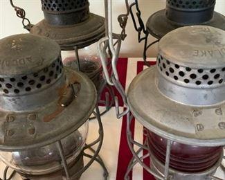Adlake RR lanterns