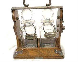 Lot 007 R.W. Sorley, Betjemann's Patent Tantalus Double Decanter