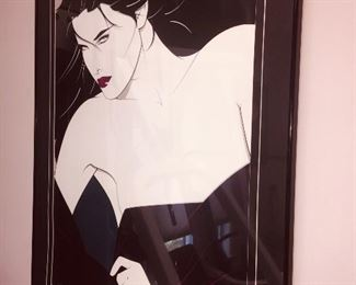 a very large signed Nagel  print