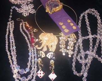 Nice collection of designer costume jewelry