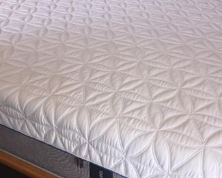 Mint!  I Cloud Luxe king mattress with foundation