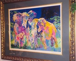 Very Large Signed Leroy Neiman signed artist proof--Gorgeous!